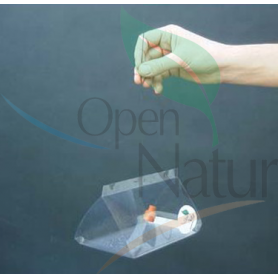 Trampa delta transparente