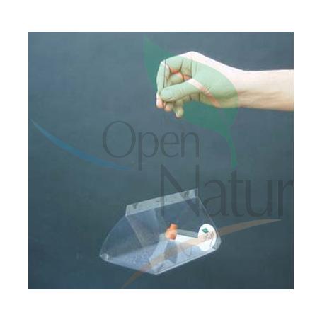 Trampa delta transparent
